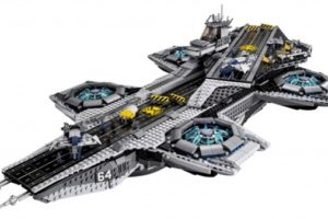 アベンジャーズの母艦「S.H.I.E.L.D.ヘリキャリア」がLEGO:Lego Super Heroes 76042 The SHIELD Helicarrier